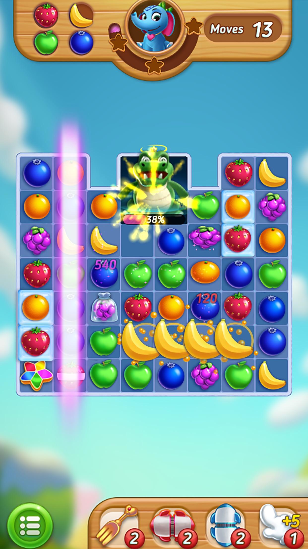 Fruits Mania : Elly's travel Screenshot