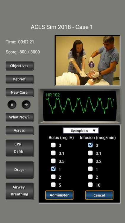 ACLS Simulator 2018 screenshot-3