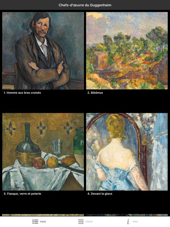 Screenshot #5 pour Chefs-d'œuvre du Guggenheim