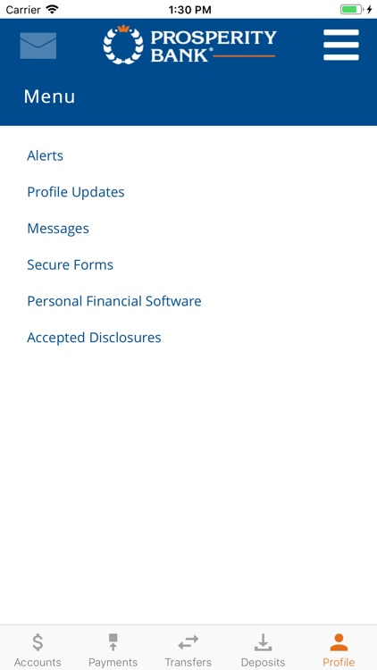 Prosperity Mobile Banking screenshot-5