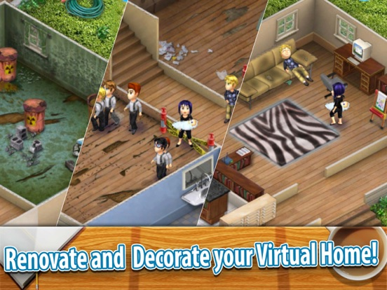 Families 2 Dream House By Ldw