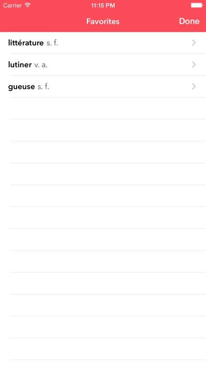 Le Littré French Dictionary screenshot-4