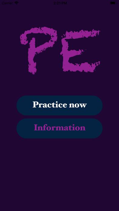 Screenshot #1 pour PE English Practice