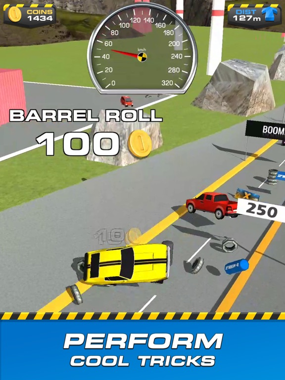 iPad Image of Ramp Car Jumping