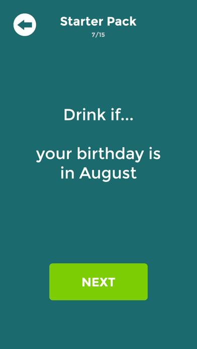 Drink If: Buzzed Drinking Game screenshot 2