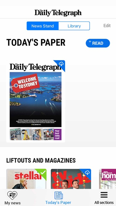 The Daily Telegraph review screenshots
