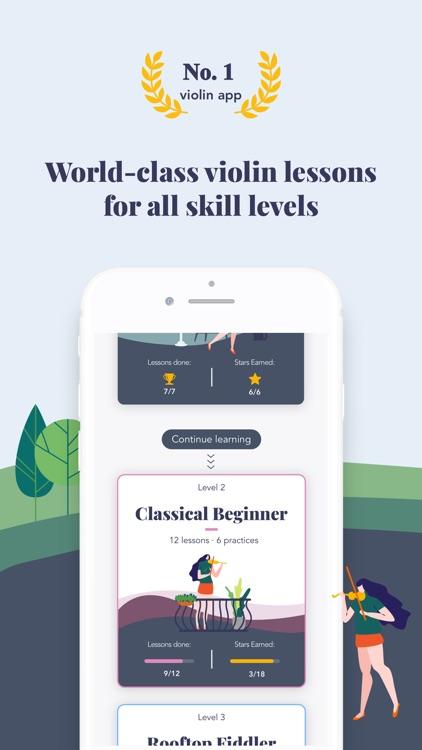 Trala: Learn Violin screenshot-0