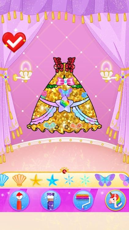 Princess Makeup Dress Design