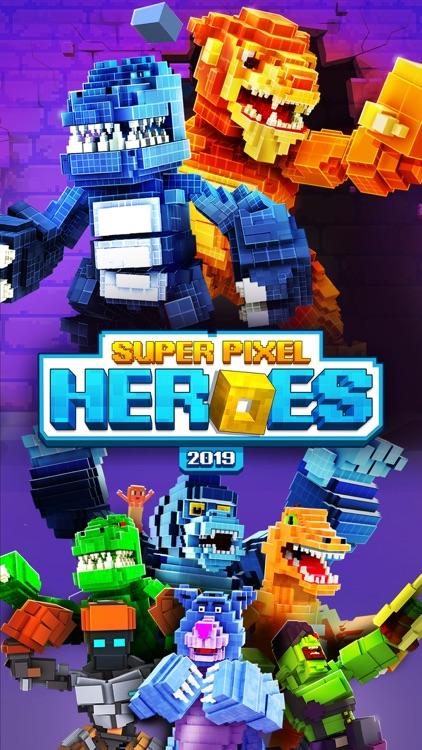 Super Pixel Heroes 2019 screenshot-0