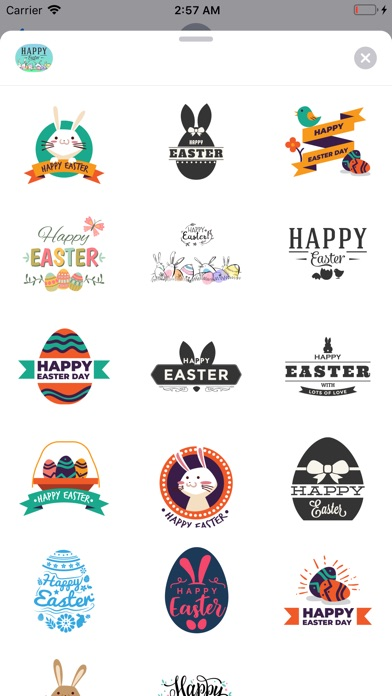 Happy Easter Badges screenshot 1