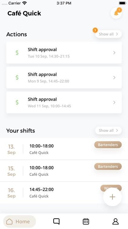 QuickOrder Staff Management