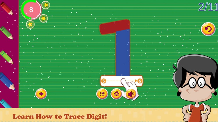 Trace ABC Letter Learning Book screenshot-4