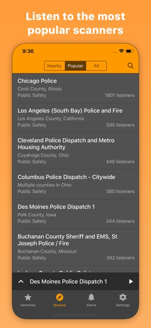 Scanner Radio: Police & Fire on the App Store