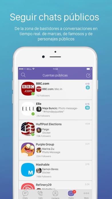 Screenshot for Viber Messenger in Spain App Store