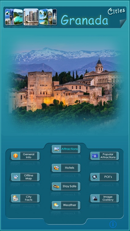 Granada Offline Map Guide