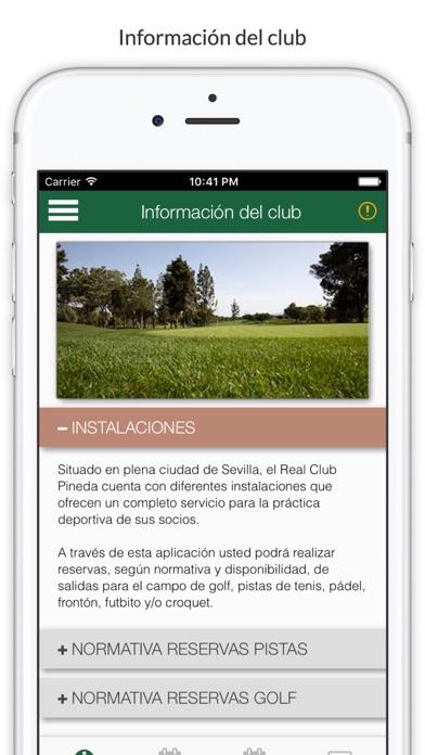 RCPineda Reserva screenshot 1