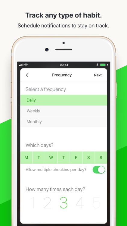 Today Habit tracker screenshot-5