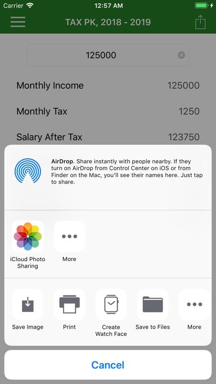 Income Tax Calculator PK screenshot-3