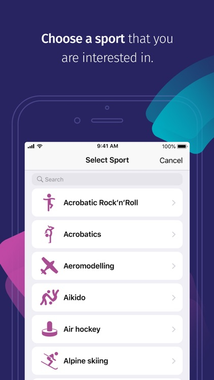 SeeYa – Find sports around you