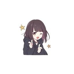 动漫二次元 girl