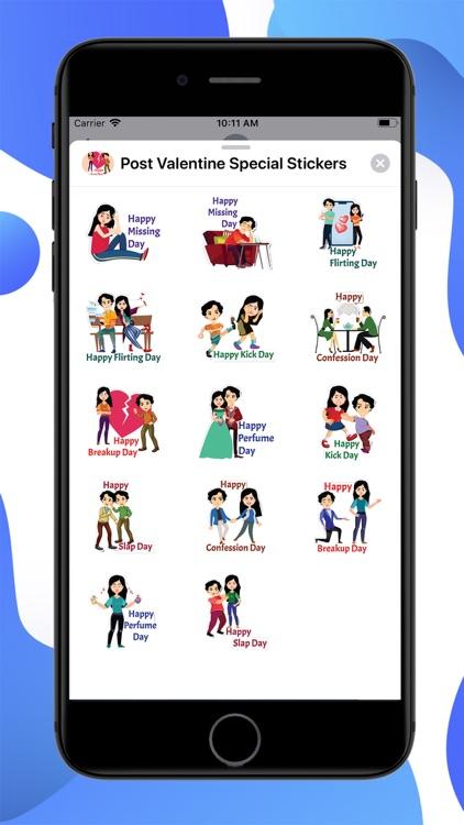 Post Valentine Special Sticker