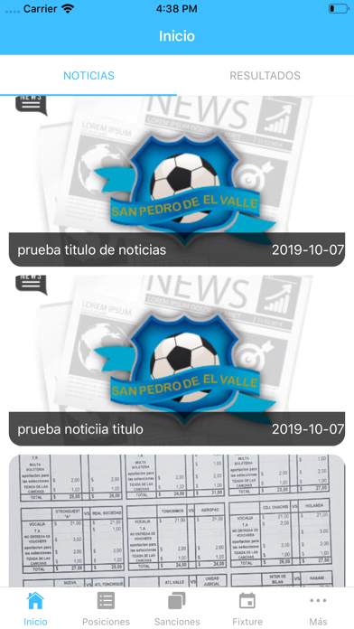 Liga San Pedro del Valle screenshot 2