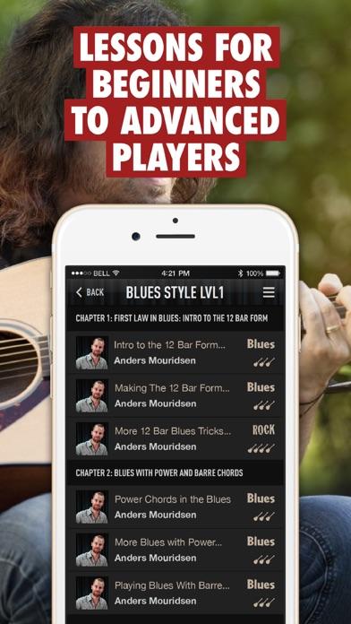 Guitar Lessons - Guitar Tricks Screenshot
