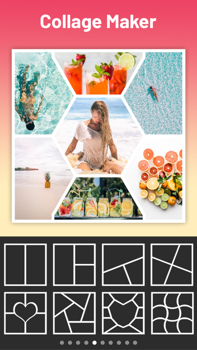 Mixgram - Collage Maker Screenshot