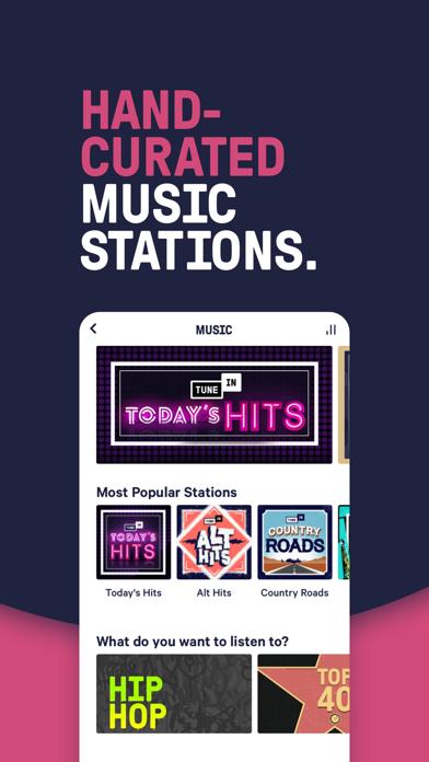 TuneIn Radio: Live News, Music Screenshot