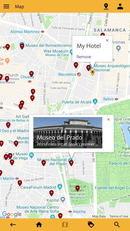 Madrid's Best: Travel Guide screenshot-3