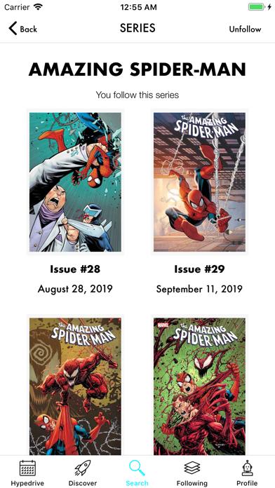 Hypedrive: New Comics Guide screenshot one