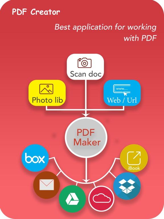 PDF Creator PRO - scan docs Screenshots