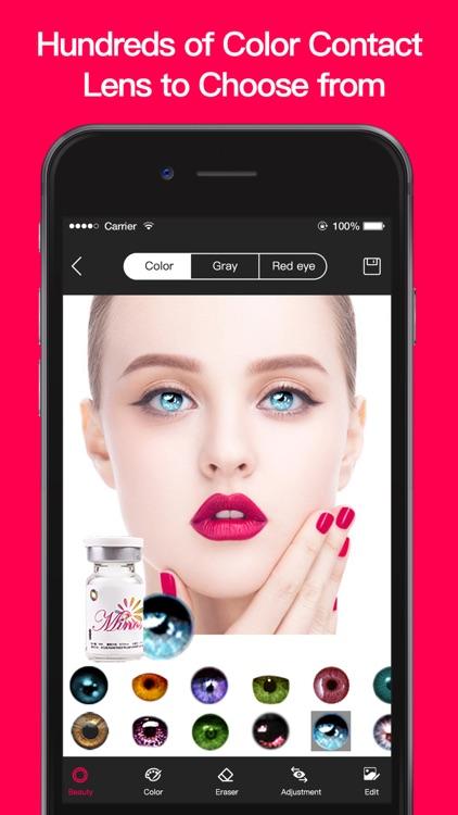 Magic Eye Color-Face Makeup screenshot-7