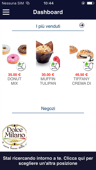 Dolce Milano screenshot 2