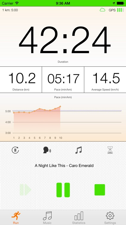 run.App - Running with GPS screenshot-0