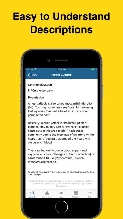 Pocket Pharmacist screenshot-3