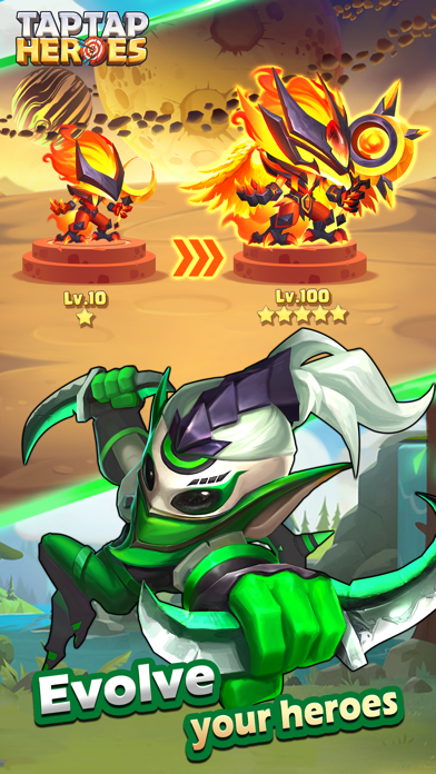Taptap Heroes - Idle RPG by Ajoy Lab (iOS, United States
