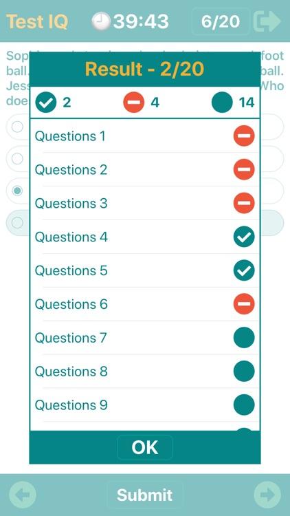 IQTest  - Training Brain screenshot-7