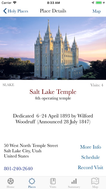 Latter-day Saint Holy Places