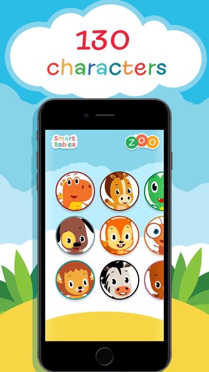 SmartBabies - Alphabet & Zoo screenshot-3