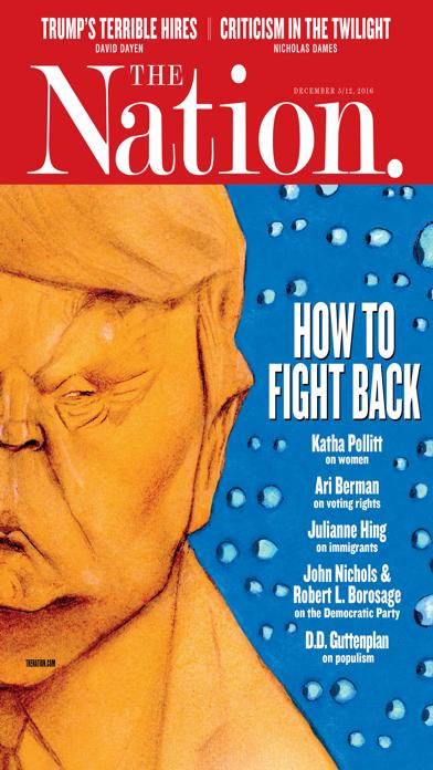 The Nation Magazine Screenshot