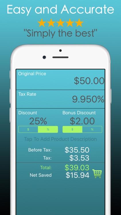 Discount Calculator % Off Sale screenshot-0