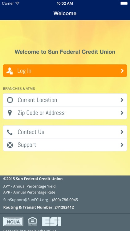 Sun Federal Credit Union screenshot-1