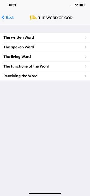 BfA Bible Study Topics on the App Store
