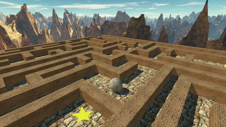 Maze Ball 3D screenshot-2