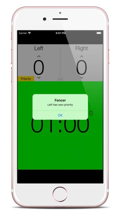 Fencing Score Counter screenshot-4