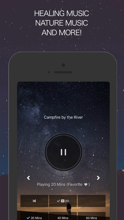 Sleep & Relax Music screenshot-3