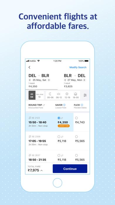 IndiGo   Flight Booking App screenshot two