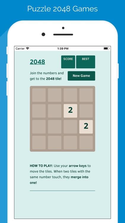 Puzzle 2048 Games screenshot-5
