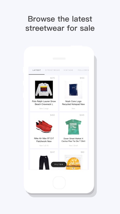 BUMP - Buy & Sell Streetwear Screenshot